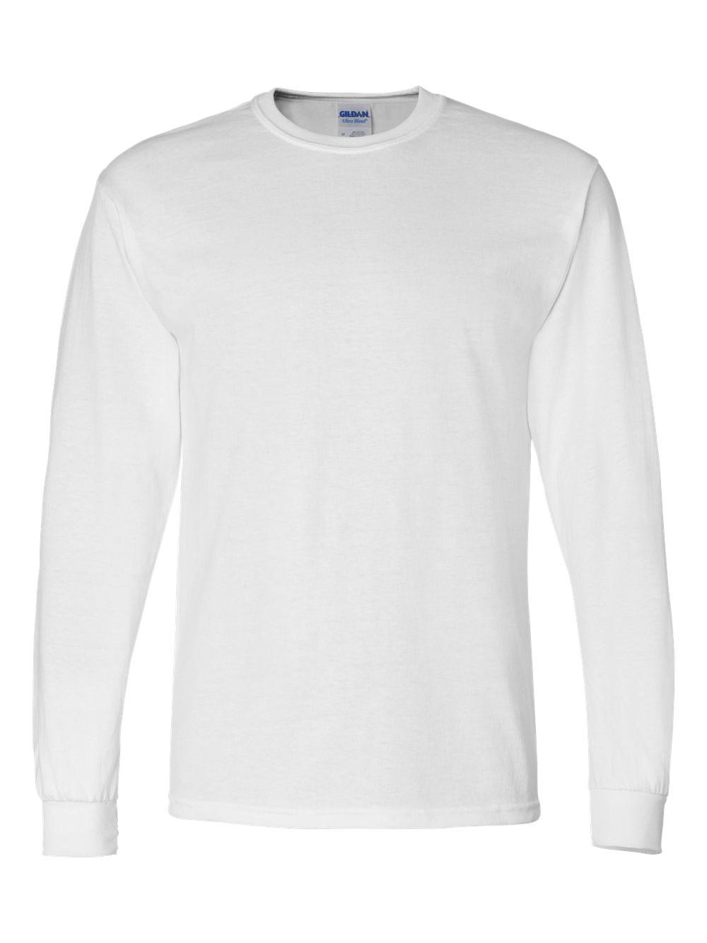 Gildan-DryBlend-50-50-Long-Sleeve-T-Shirt-8400 thumbnail 46