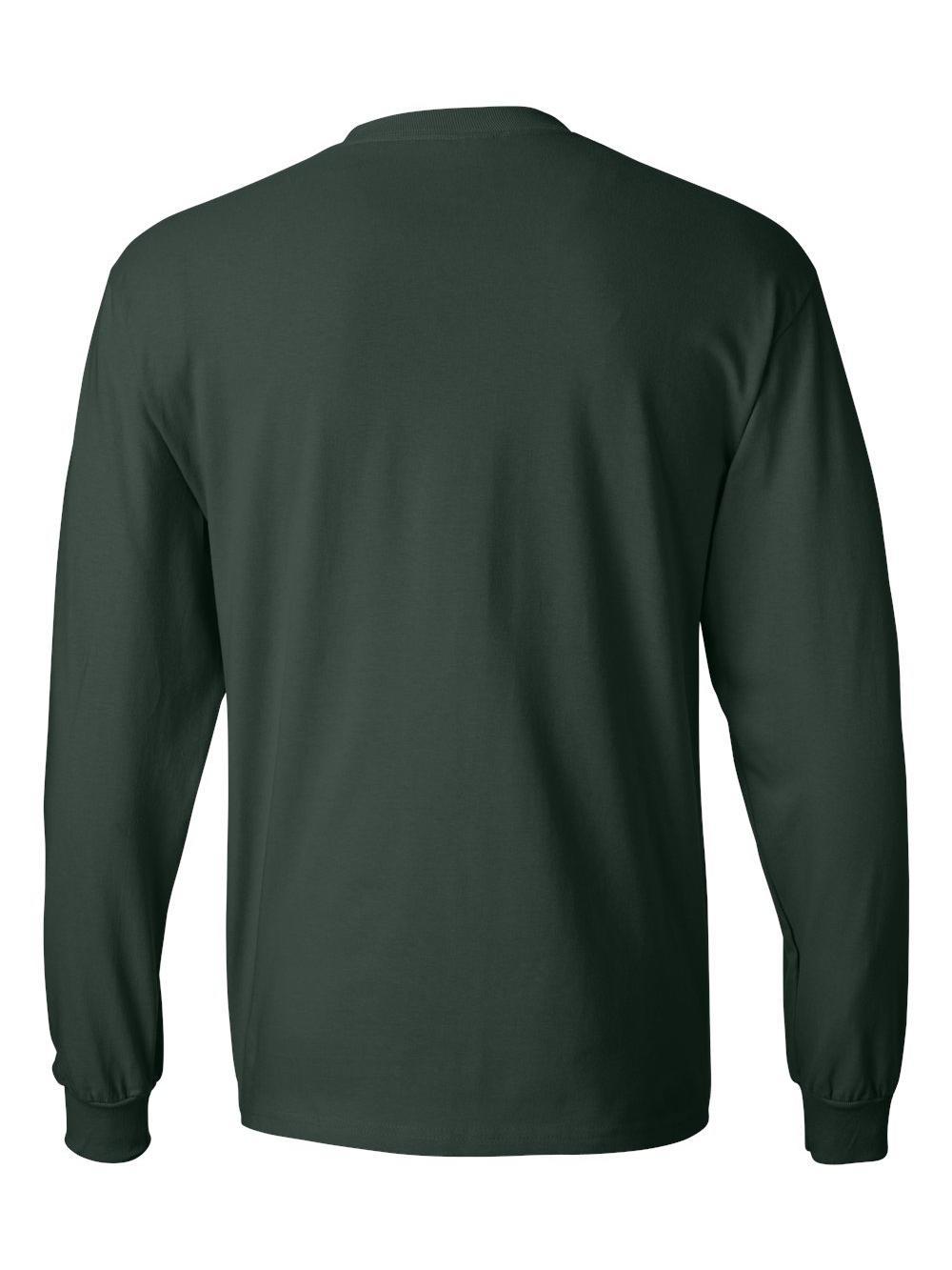 Hanes-Beefy-T-Long-Sleeve-T-Shirt-5186 thumbnail 25