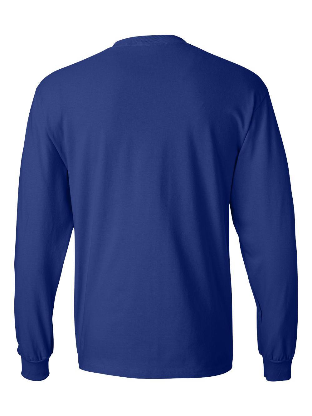 Hanes-Beefy-T-Long-Sleeve-T-Shirt-5186 thumbnail 31