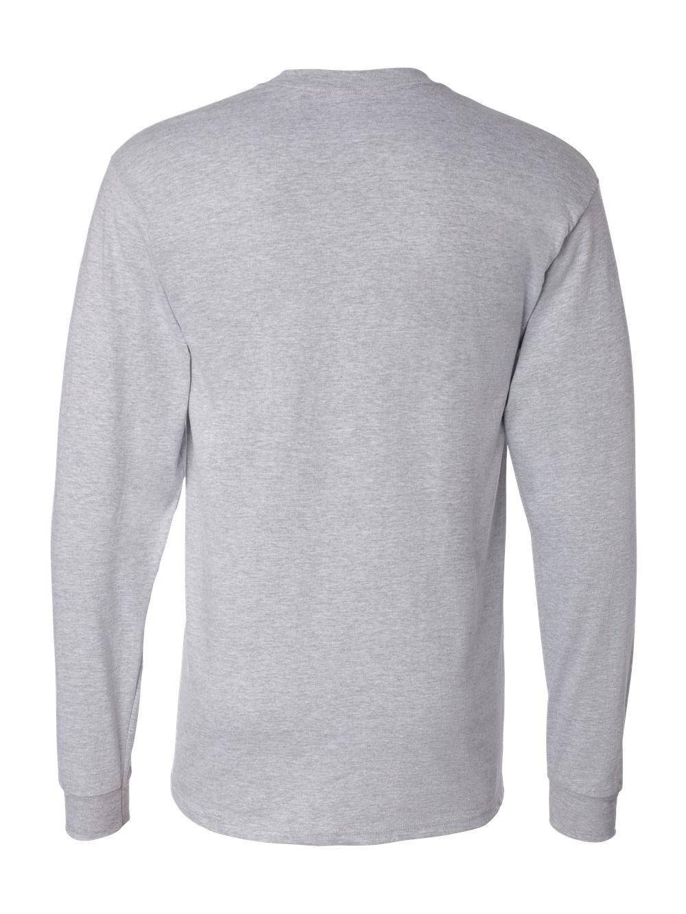 Hanes-Beefy-T-Long-Sleeve-T-Shirt-5186 thumbnail 34
