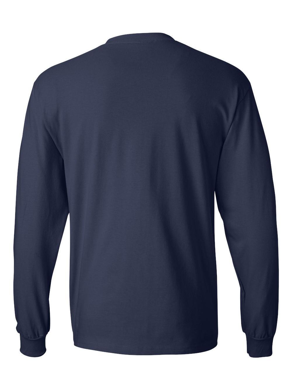 Hanes-Beefy-T-Long-Sleeve-T-Shirt-5186 thumbnail 40