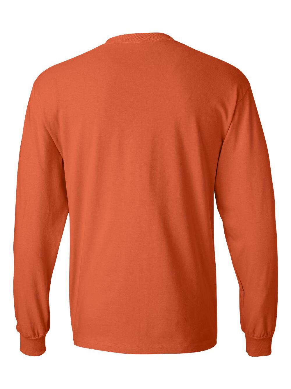 Hanes-Beefy-T-Long-Sleeve-T-Shirt-5186 thumbnail 43