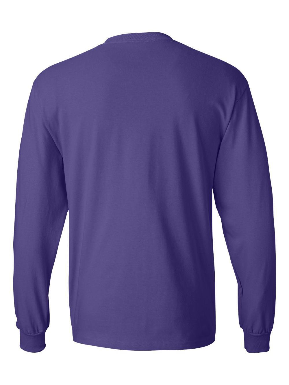 Hanes-Beefy-T-Long-Sleeve-T-Shirt-5186 thumbnail 46