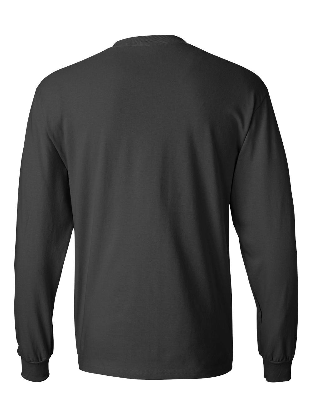Hanes-Beefy-T-Long-Sleeve-T-Shirt-5186 thumbnail 49