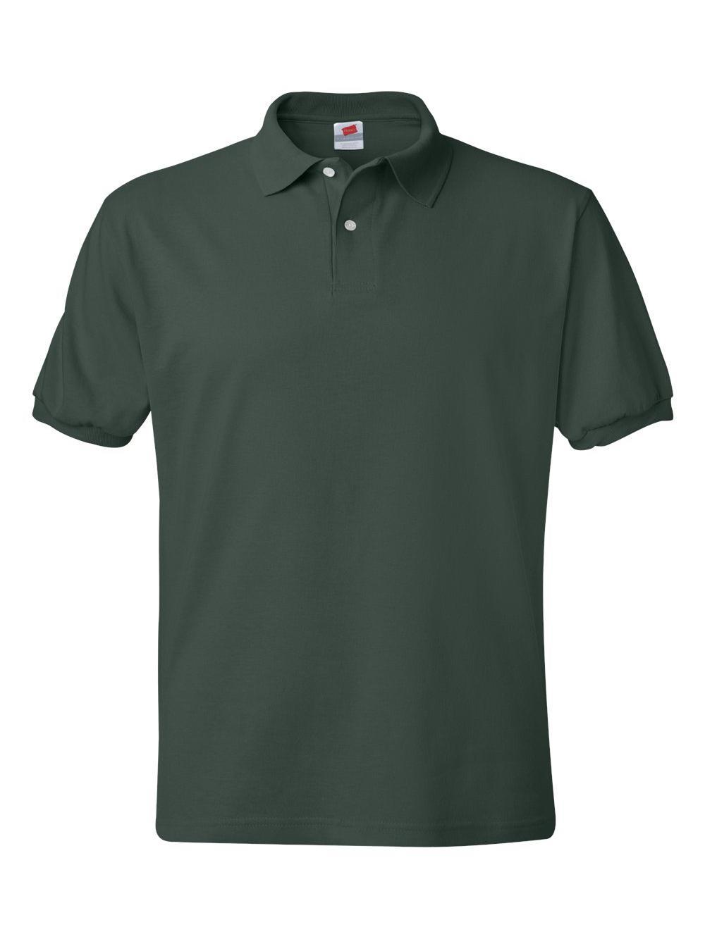 Hanes-Ecosmart-Jersey-Sport-Shirt-054X thumbnail 12