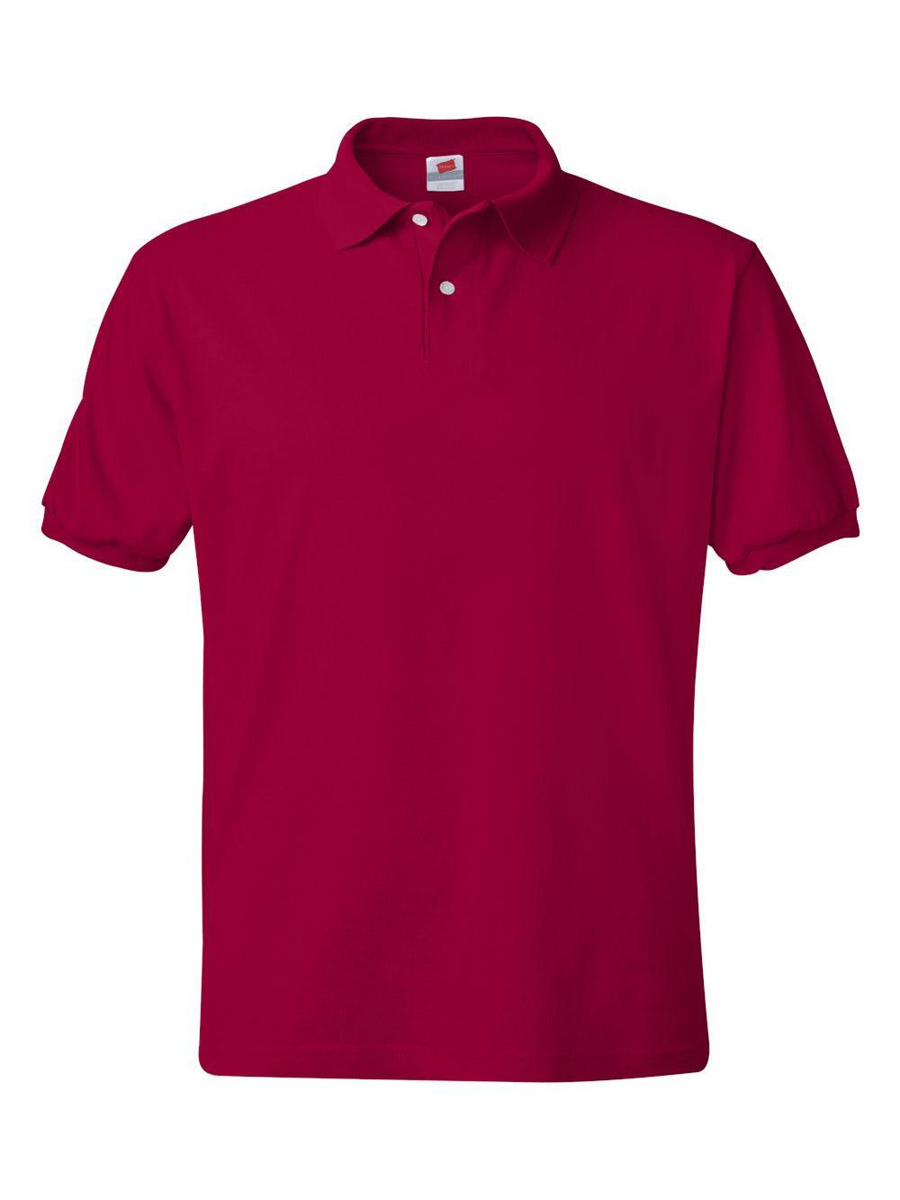 Hanes-Ecosmart-Jersey-Sport-Shirt-054X thumbnail 15