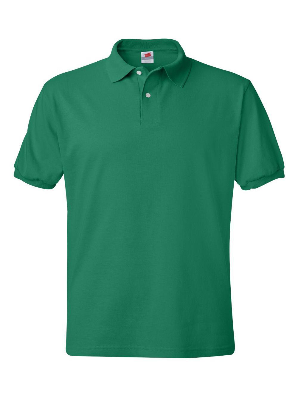 Hanes-Ecosmart-Jersey-Sport-Shirt-054X thumbnail 21