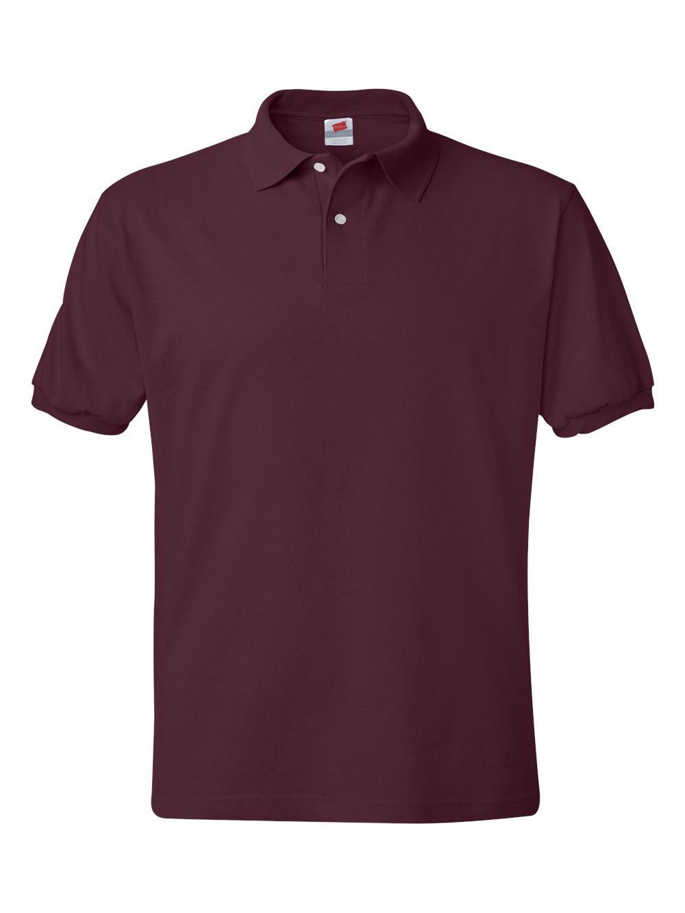 Hanes-Ecosmart-Jersey-Sport-Shirt-054X thumbnail 30