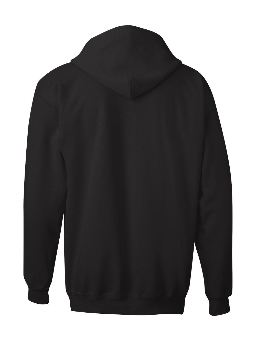 Hanes-Ultimate-Cotton-Full-Zip-Hooded-Sweatshirt-F280 thumbnail 4