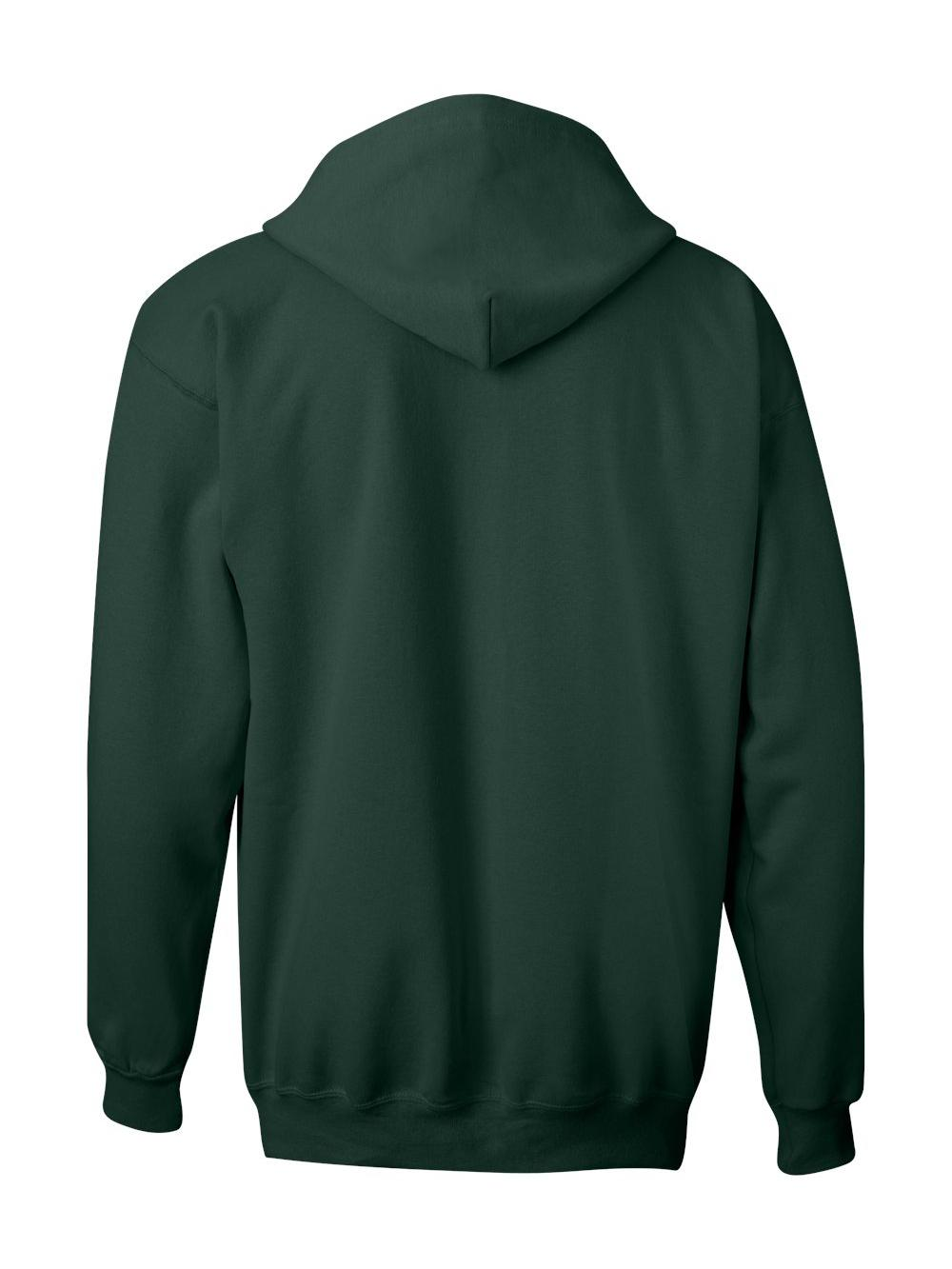 Hanes-Ultimate-Cotton-Full-Zip-Hooded-Sweatshirt-F280 thumbnail 10