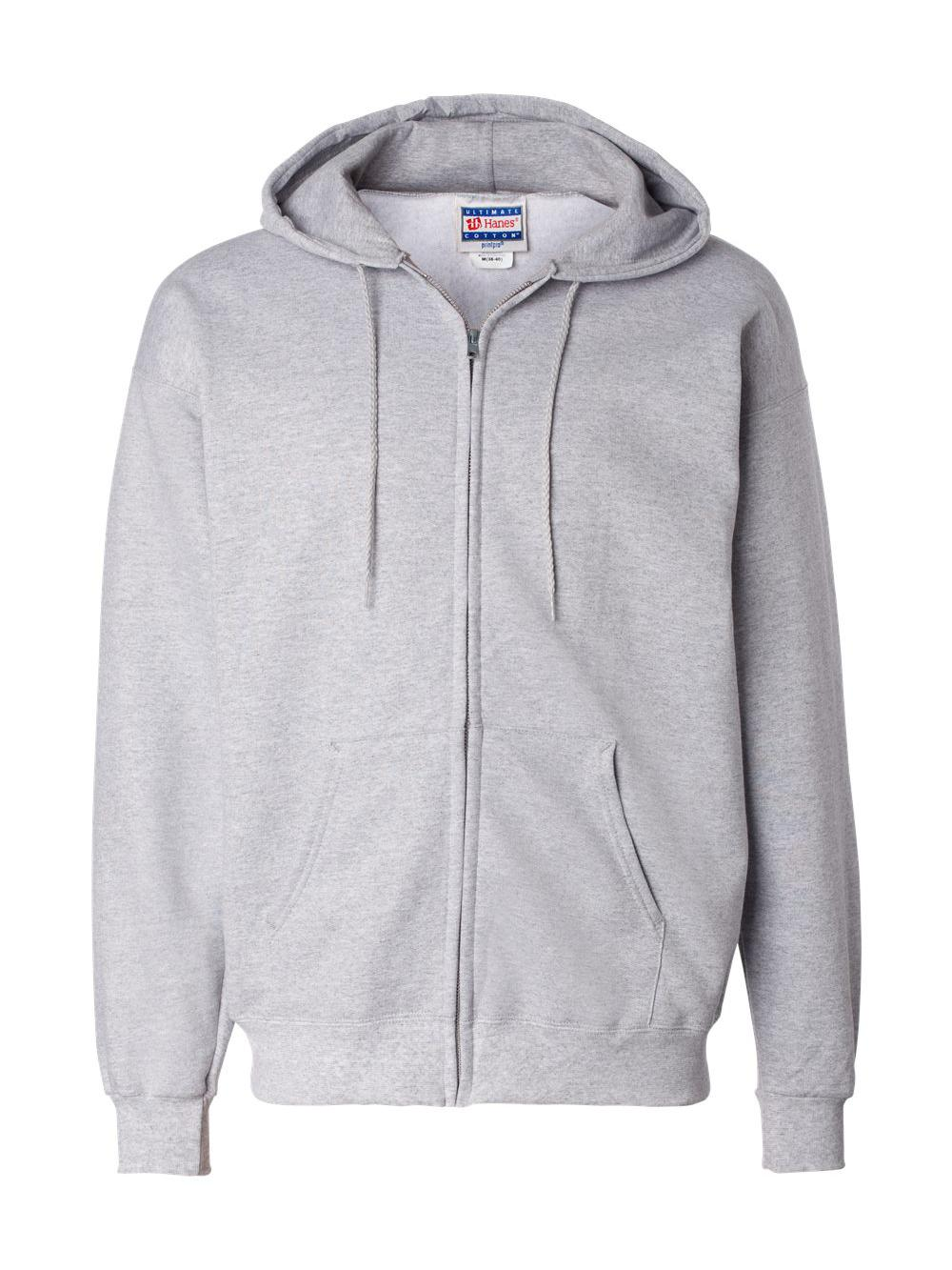 Hanes-Ultimate-Cotton-Full-Zip-Hooded-Sweatshirt-F280 thumbnail 12