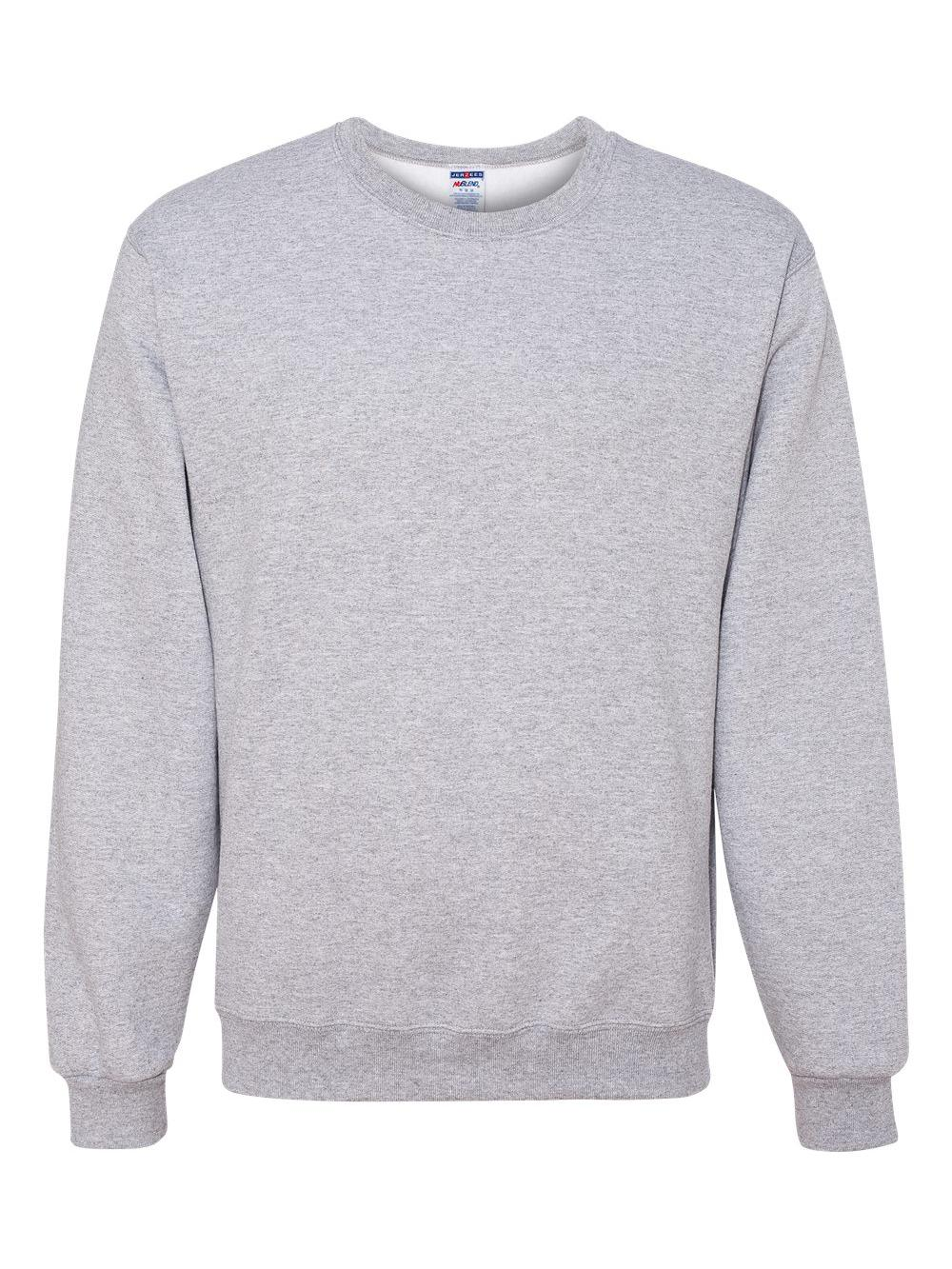 Jerzees-NuBlend-Crewneck-Sweatshirt-562MR thumbnail 3