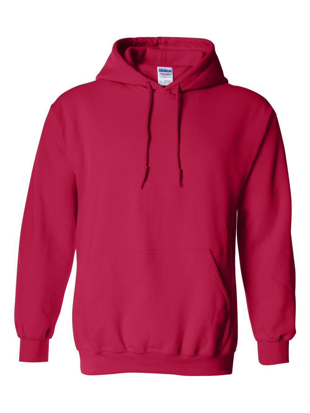 Gildan-Heavy-Blend-Hooded-Sweatshirt-18500 miniatura 24