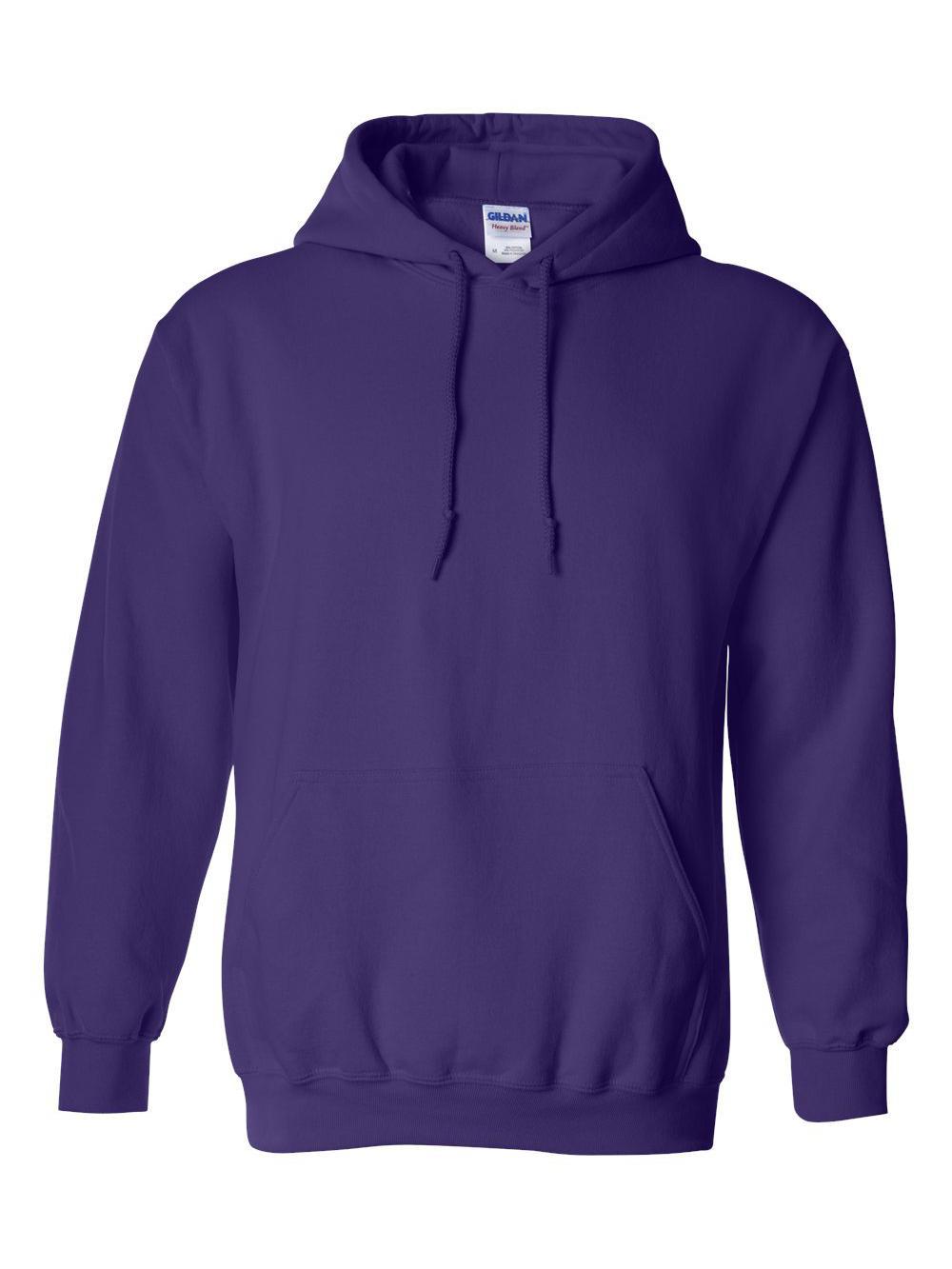 Gildan-Heavy-Blend-Hooded-Sweatshirt-18500 miniatura 90