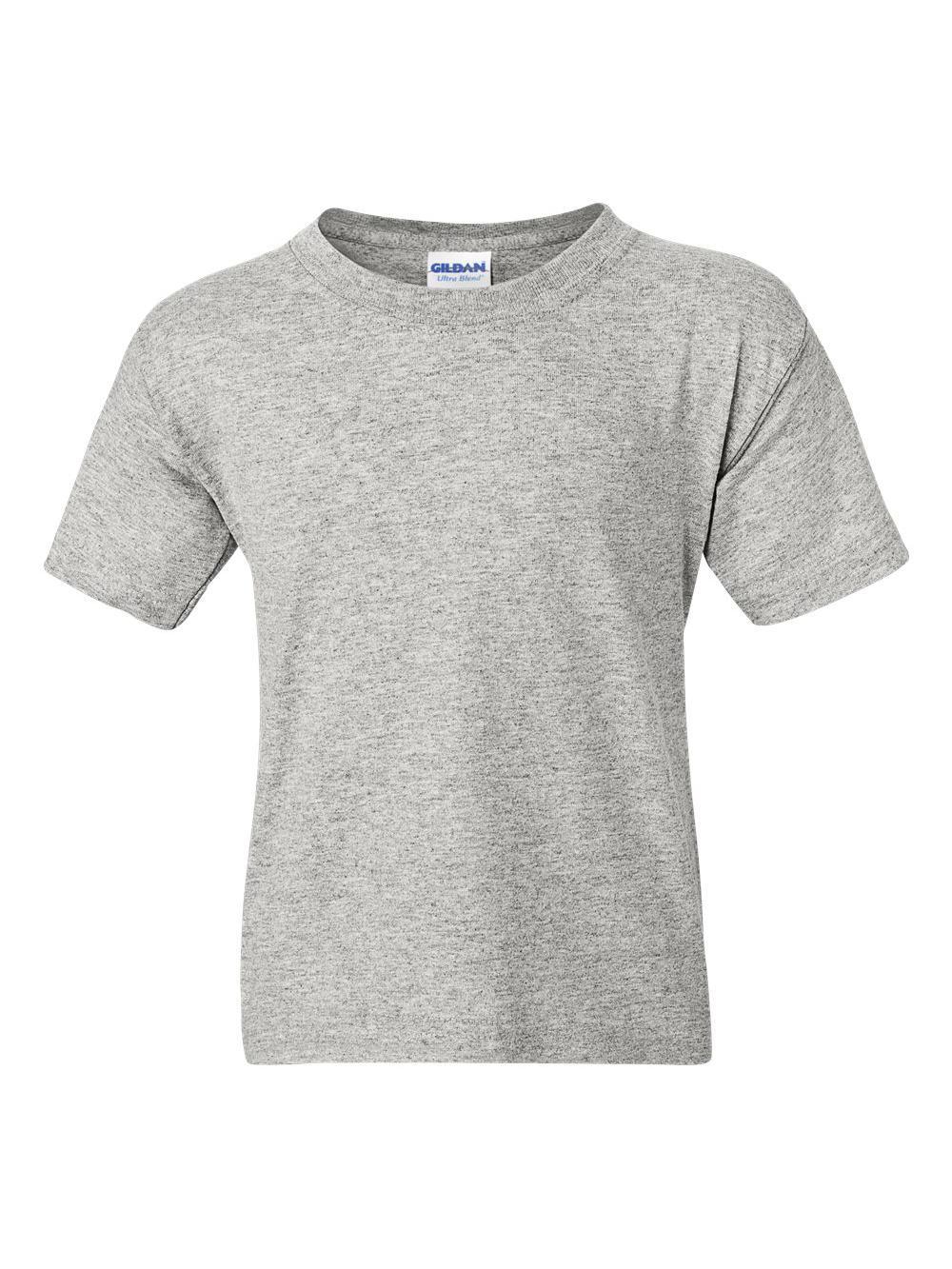 Gildan-DryBlend-Youth-50-50-T-Shirt-8000B thumbnail 3
