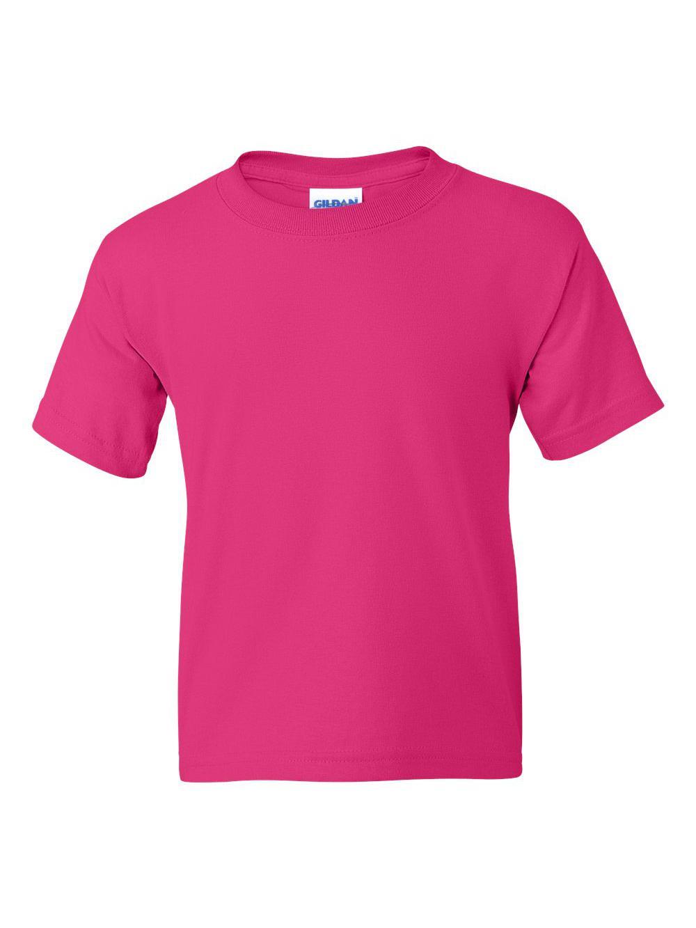 Gildan-DryBlend-Youth-50-50-T-Shirt-8000B thumbnail 45