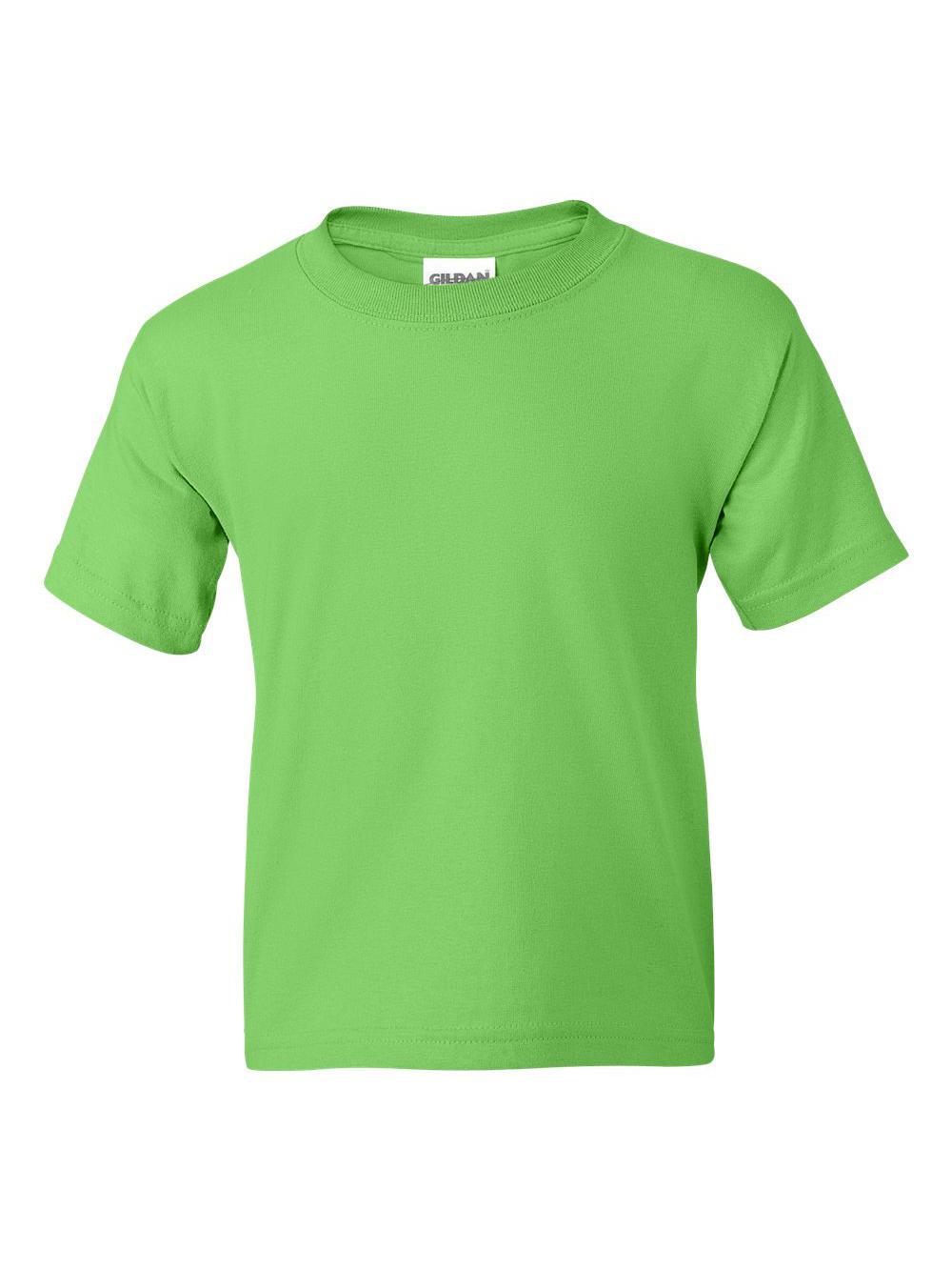 Gildan-DryBlend-Youth-50-50-T-Shirt-8000B thumbnail 60