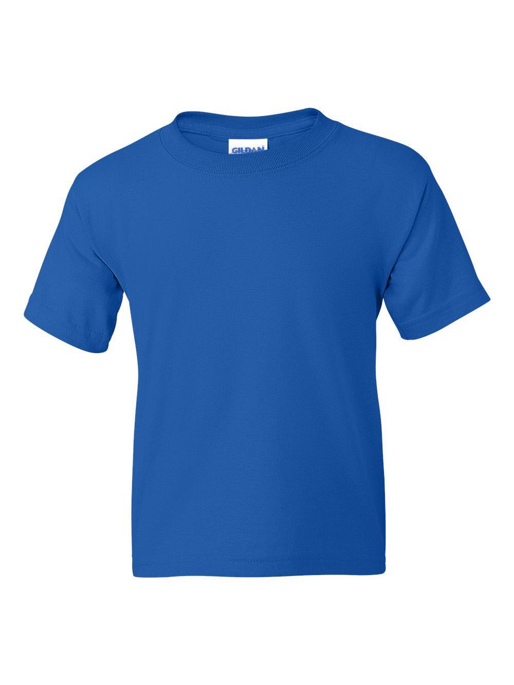 Gildan-DryBlend-Youth-50-50-T-Shirt-8000B thumbnail 78