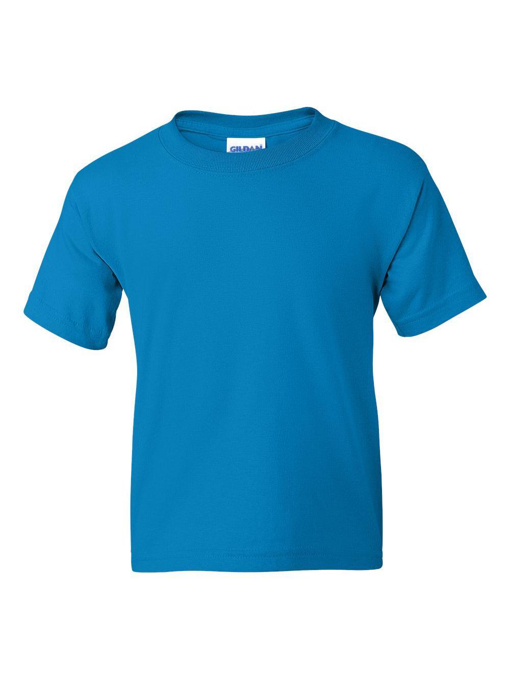 Gildan-DryBlend-Youth-50-50-T-Shirt-8000B thumbnail 87