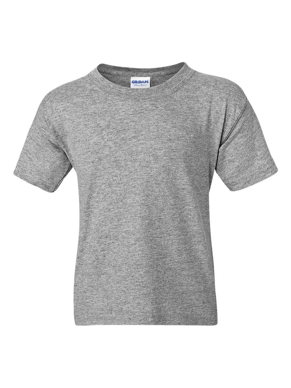 Gildan-DryBlend-Youth-50-50-T-Shirt-8000B thumbnail 99