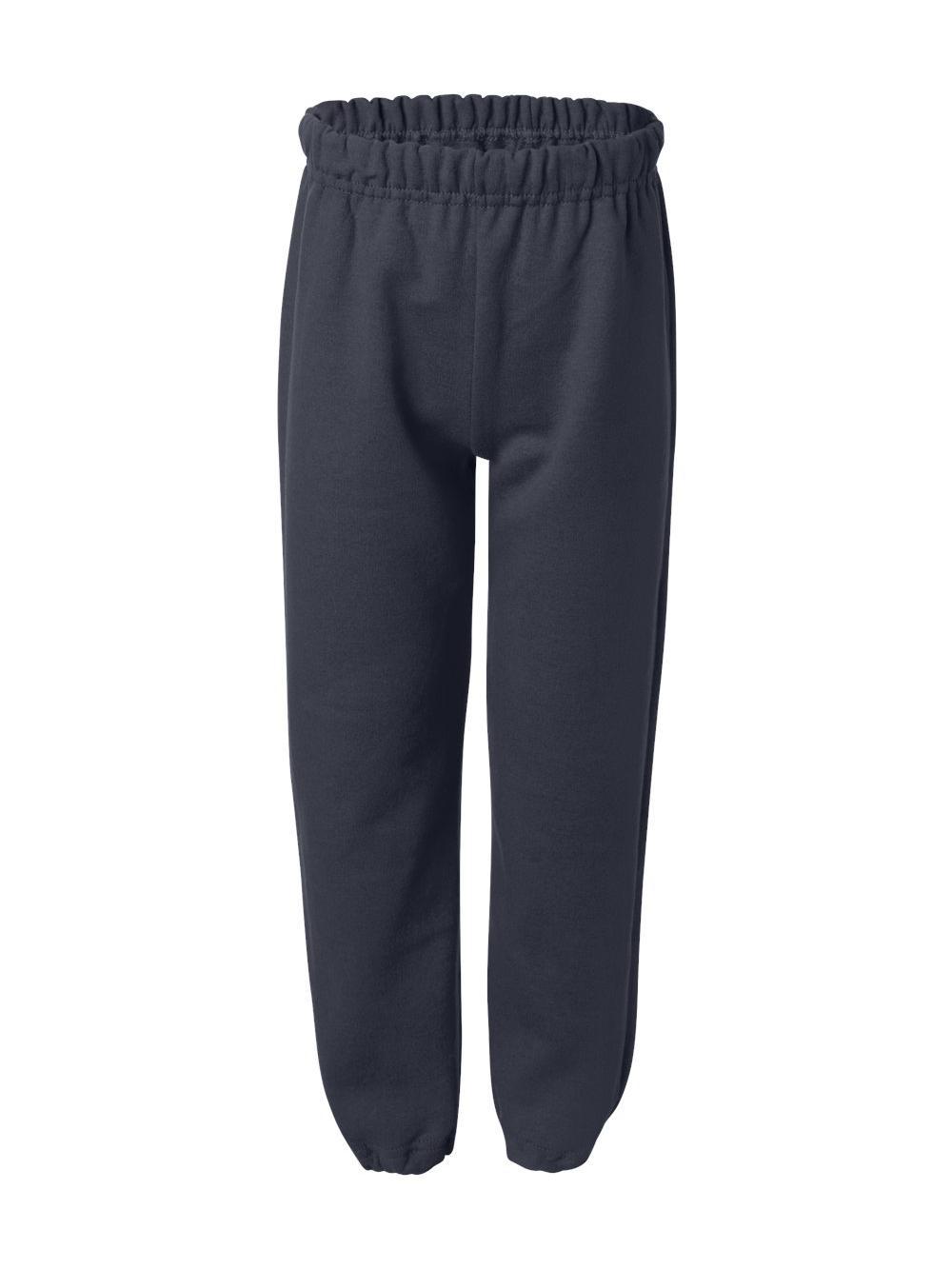Gildan-Heavy-Blend-Youth-Sweatpants-18200B thumbnail 9
