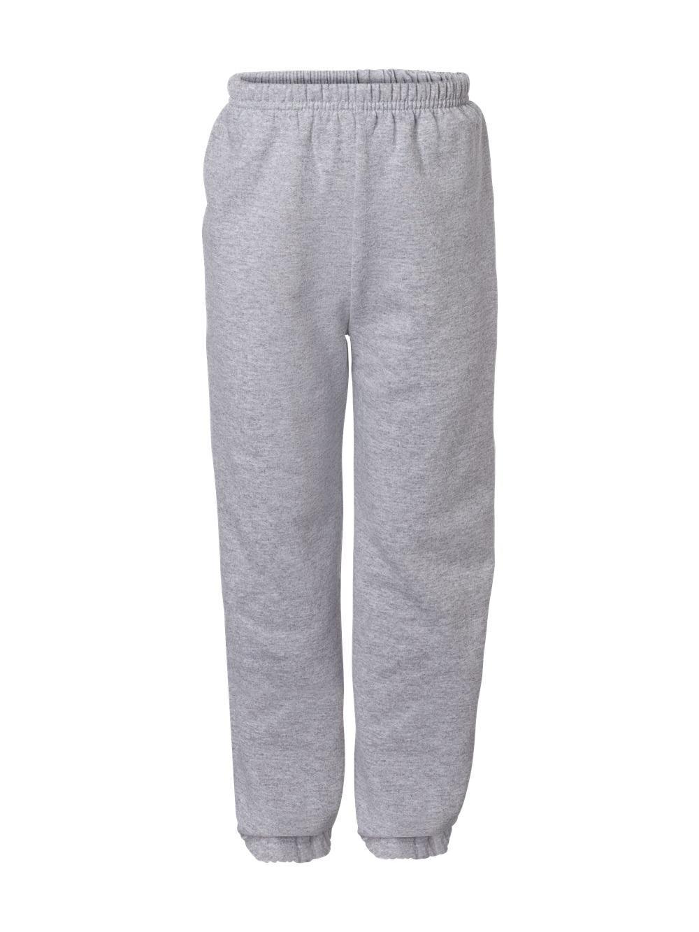 Gildan-Heavy-Blend-Youth-Sweatpants-18200B thumbnail 18
