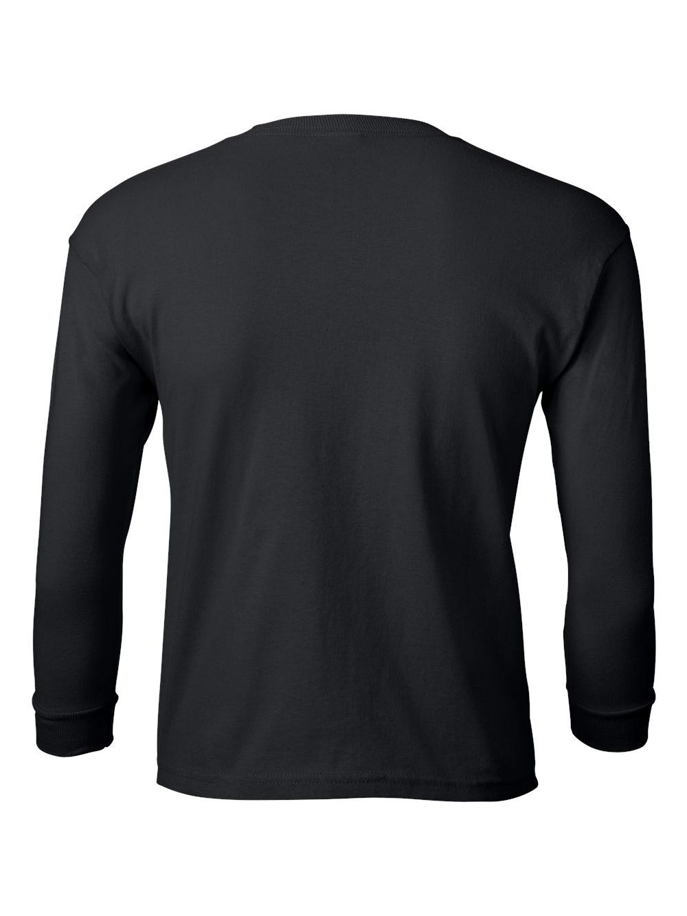 Gildan-Ultra-Cotton-Youth-Long-Sleeve-T-Shirt-2400B thumbnail 7