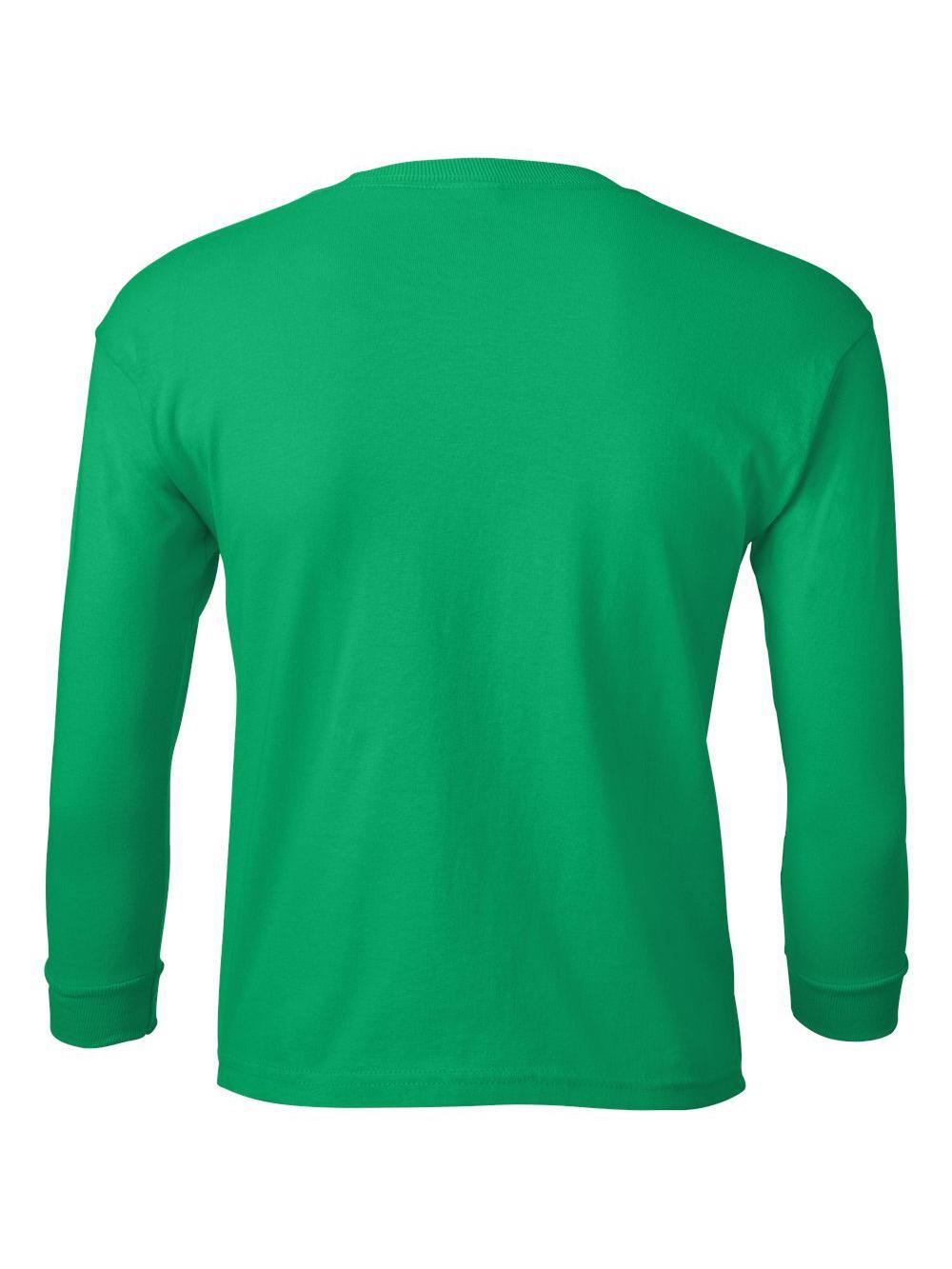 Gildan-Ultra-Cotton-Youth-Long-Sleeve-T-Shirt-2400B thumbnail 13