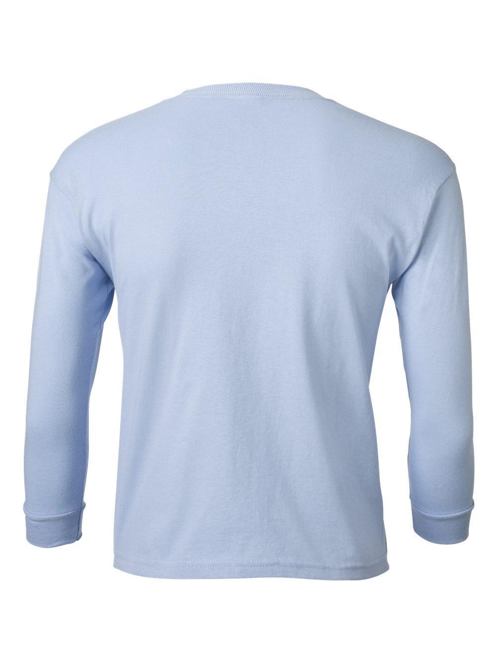 Gildan-Ultra-Cotton-Youth-Long-Sleeve-T-Shirt-2400B thumbnail 16