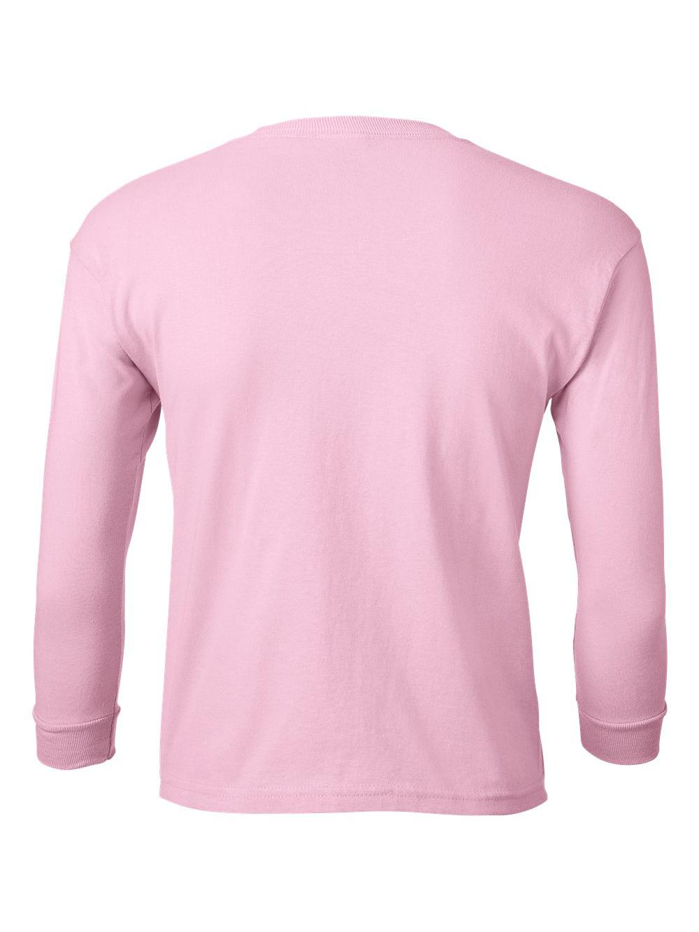 Gildan-Ultra-Cotton-Youth-Long-Sleeve-T-Shirt-2400B thumbnail 19
