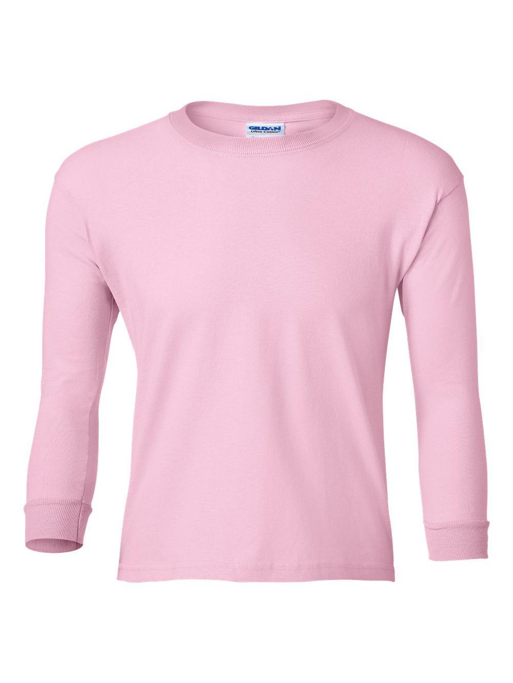 Gildan-Ultra-Cotton-Youth-Long-Sleeve-T-Shirt-2400B thumbnail 18