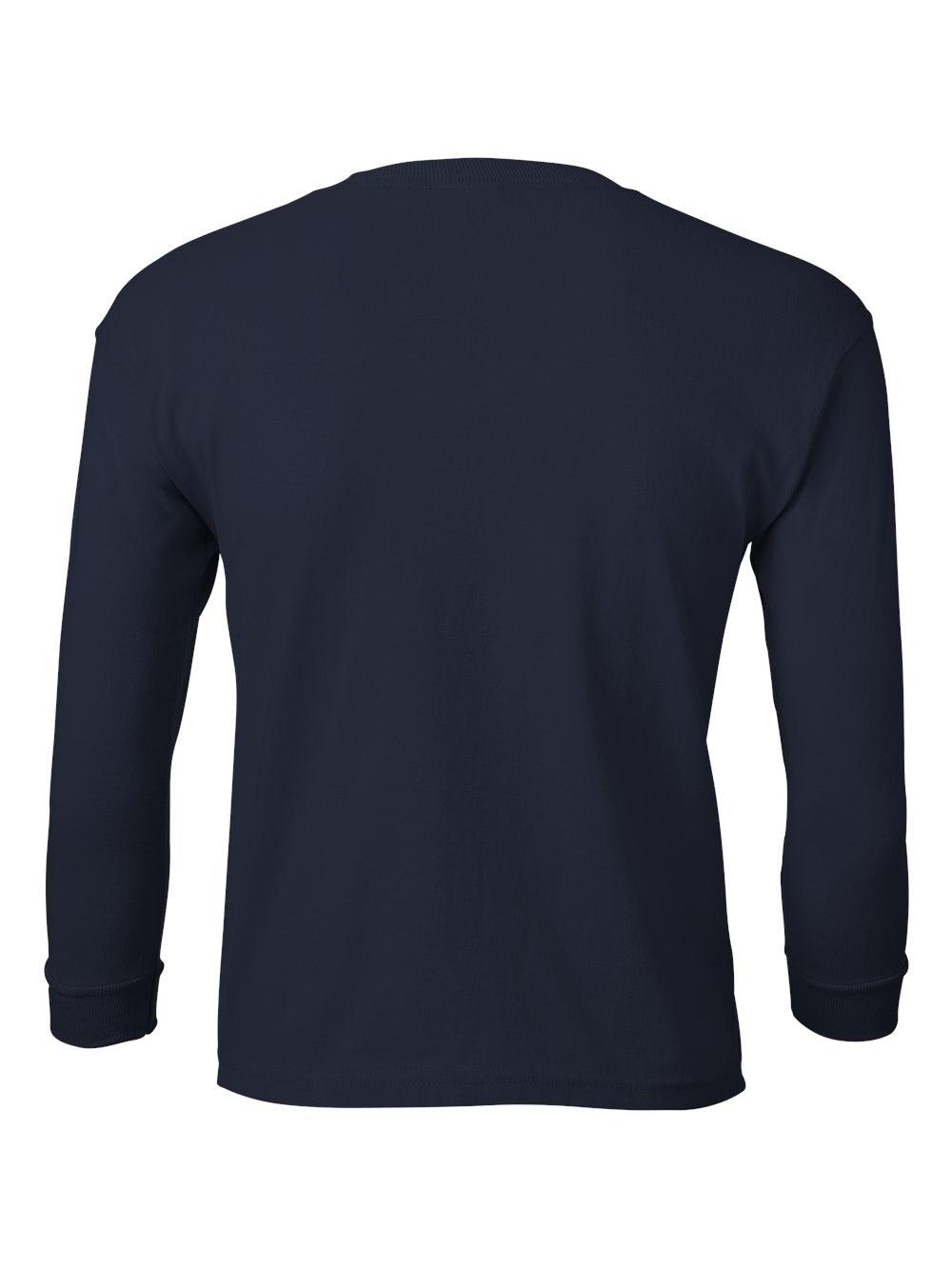 Gildan-Ultra-Cotton-Youth-Long-Sleeve-T-Shirt-2400B thumbnail 25