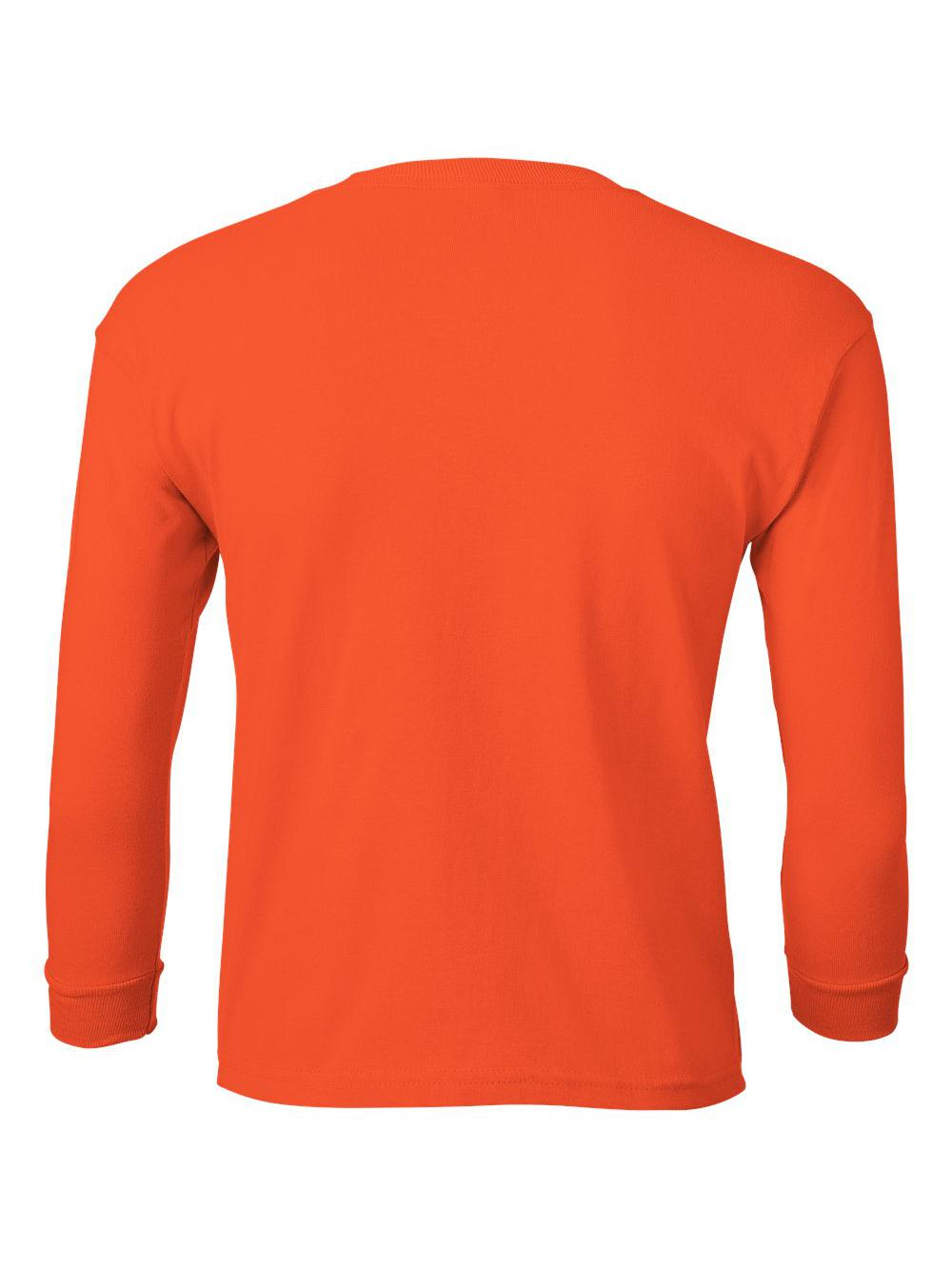 Gildan-Ultra-Cotton-Youth-Long-Sleeve-T-Shirt-2400B thumbnail 28