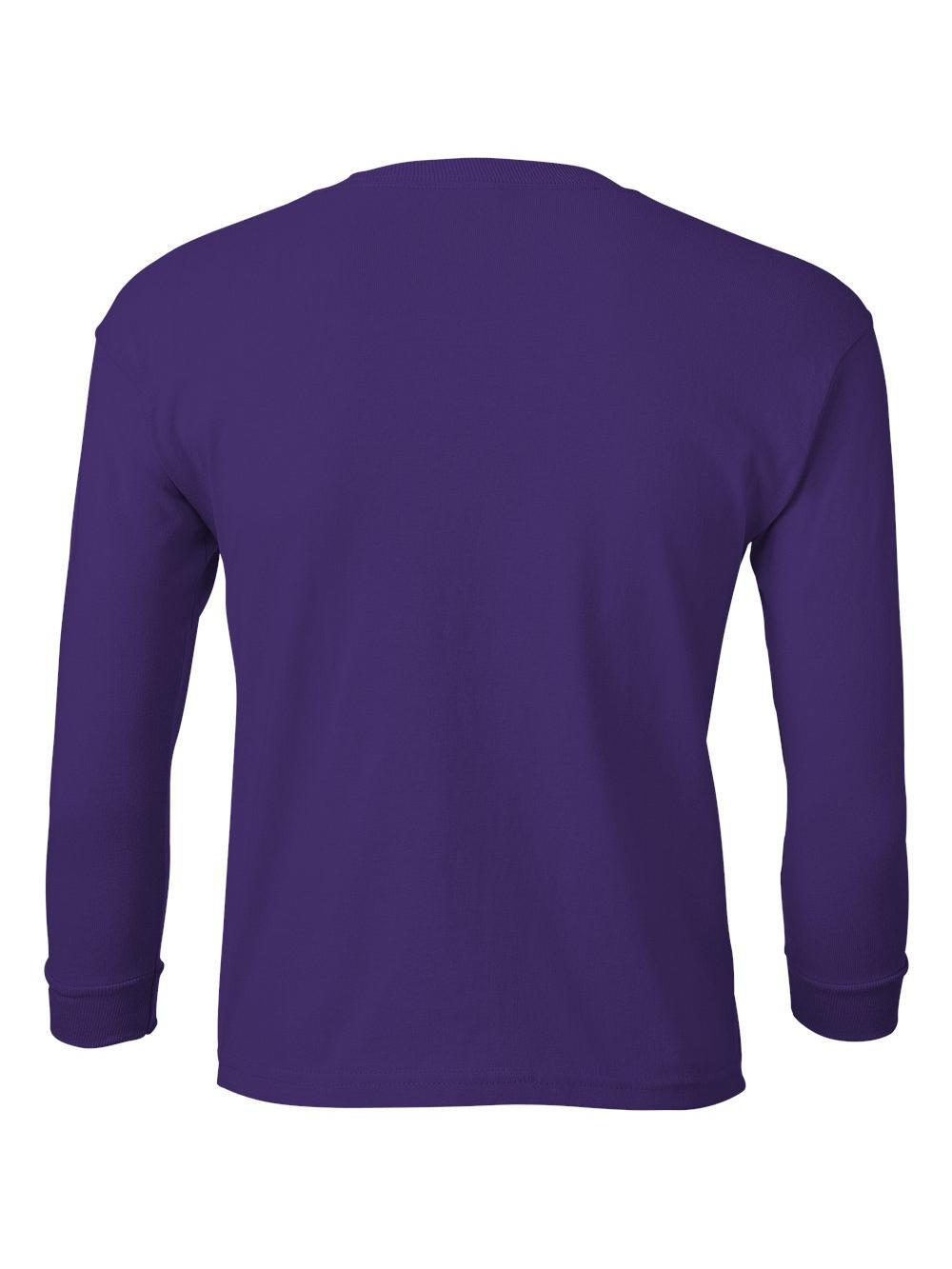 Gildan-Ultra-Cotton-Youth-Long-Sleeve-T-Shirt-2400B thumbnail 31