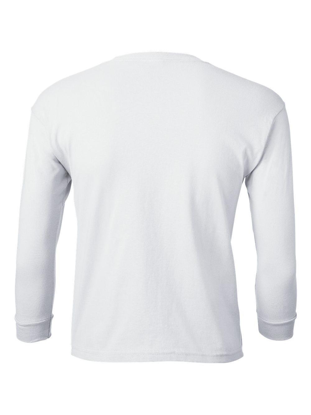 Gildan-Ultra-Cotton-Youth-Long-Sleeve-T-Shirt-2400B thumbnail 46