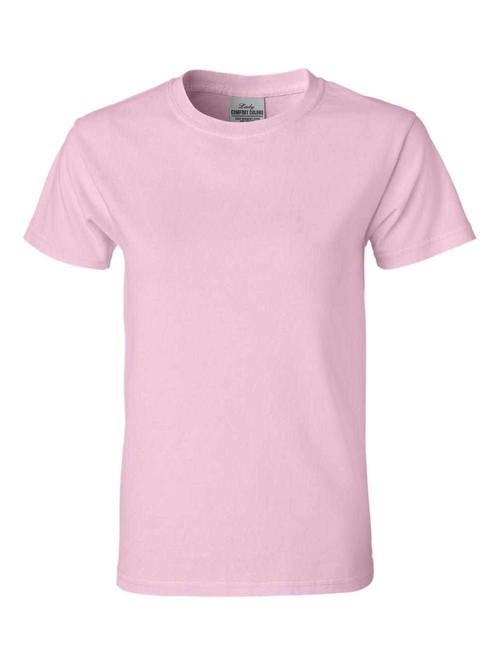 Comfort-Colors-Pigment-Dyed-Ringspun-Women-039-s-Short-Sleeve-T-Shirt-3333 thumbnail 3