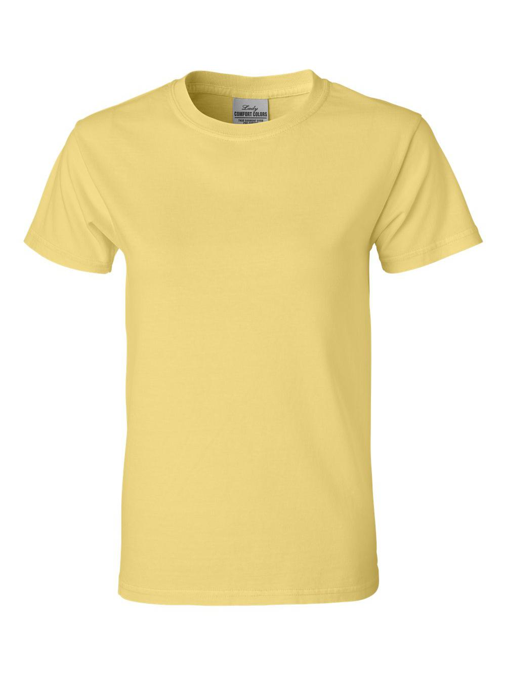 Comfort-Colors-Pigment-Dyed-Ringspun-Women-039-s-Short-Sleeve-T-Shirt-3333 thumbnail 6