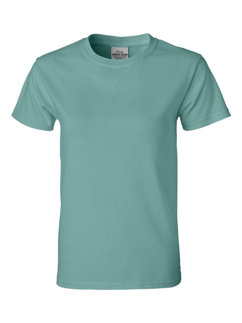 Comfort-Colors-Pigment-Dyed-Ringspun-Women-039-s-Short-Sleeve-T-Shirt-3333 thumbnail 25