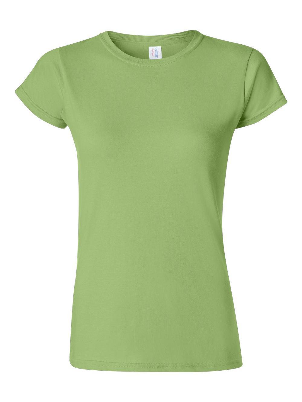 Gildan-Softstyle-Women-039-s-T-Shirt-64000L thumbnail 30