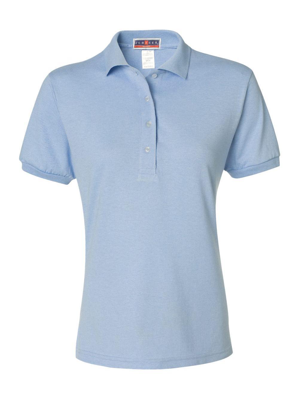 Jerzees-Women-039-s-Spotshield-50-50-Sport-Shirt-437WR thumbnail 21