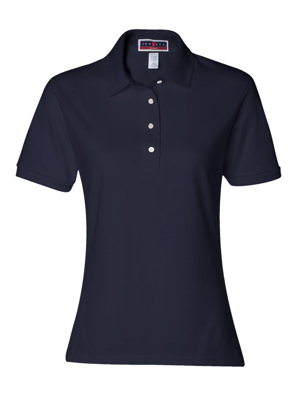 Jerzees-Women-039-s-Spotshield-50-50-Sport-Shirt-437WR thumbnail 15