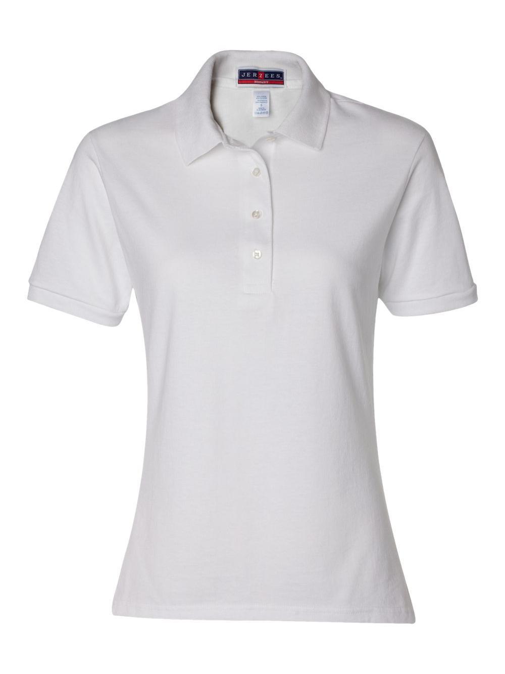 Jerzees-Women-039-s-Spotshield-50-50-Sport-Shirt-437WR thumbnail 36