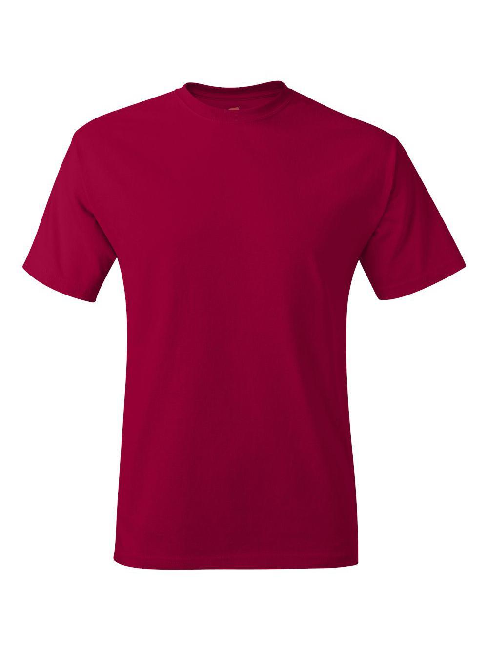 Hanes-Tagless-T-Shirt-5250 thumbnail 42