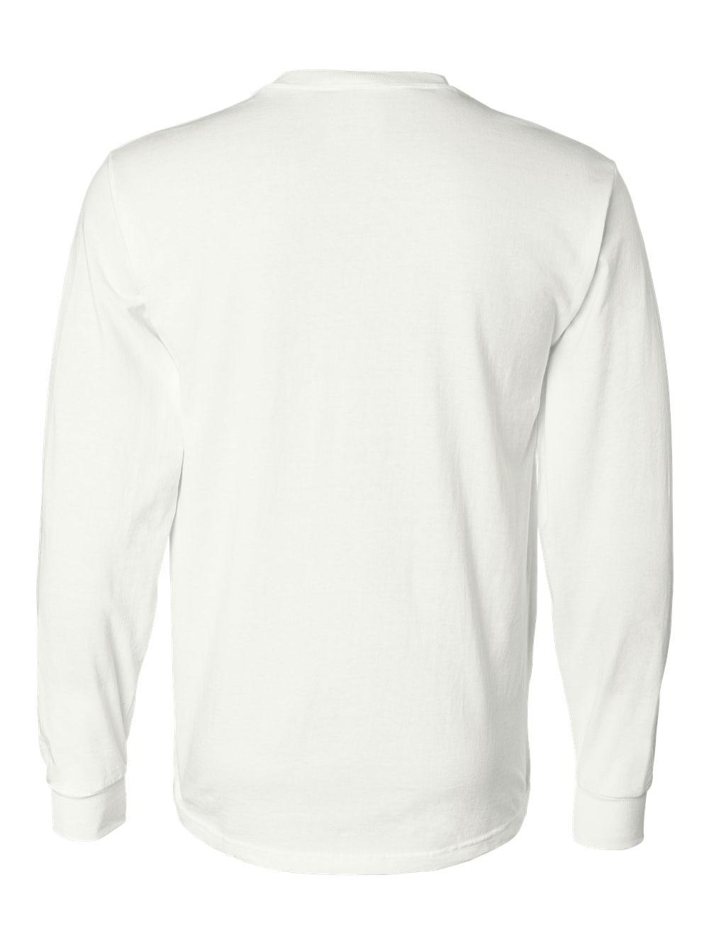 Fruit-of-the-Loom-HD-Cotton-Long-Sleeve-T-Shirt-4930R thumbnail 79