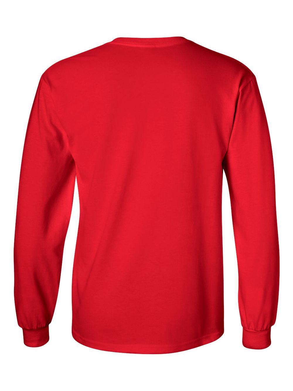 Gildan-Ultra-Cotton-Long-Sleeve-T-Shirt-2400 thumbnail 61