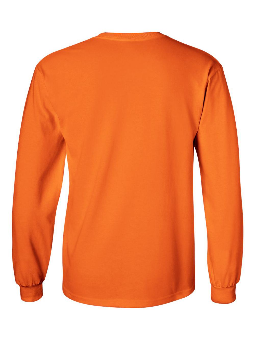Gildan-Ultra-Cotton-Long-Sleeve-T-Shirt-2400 thumbnail 70