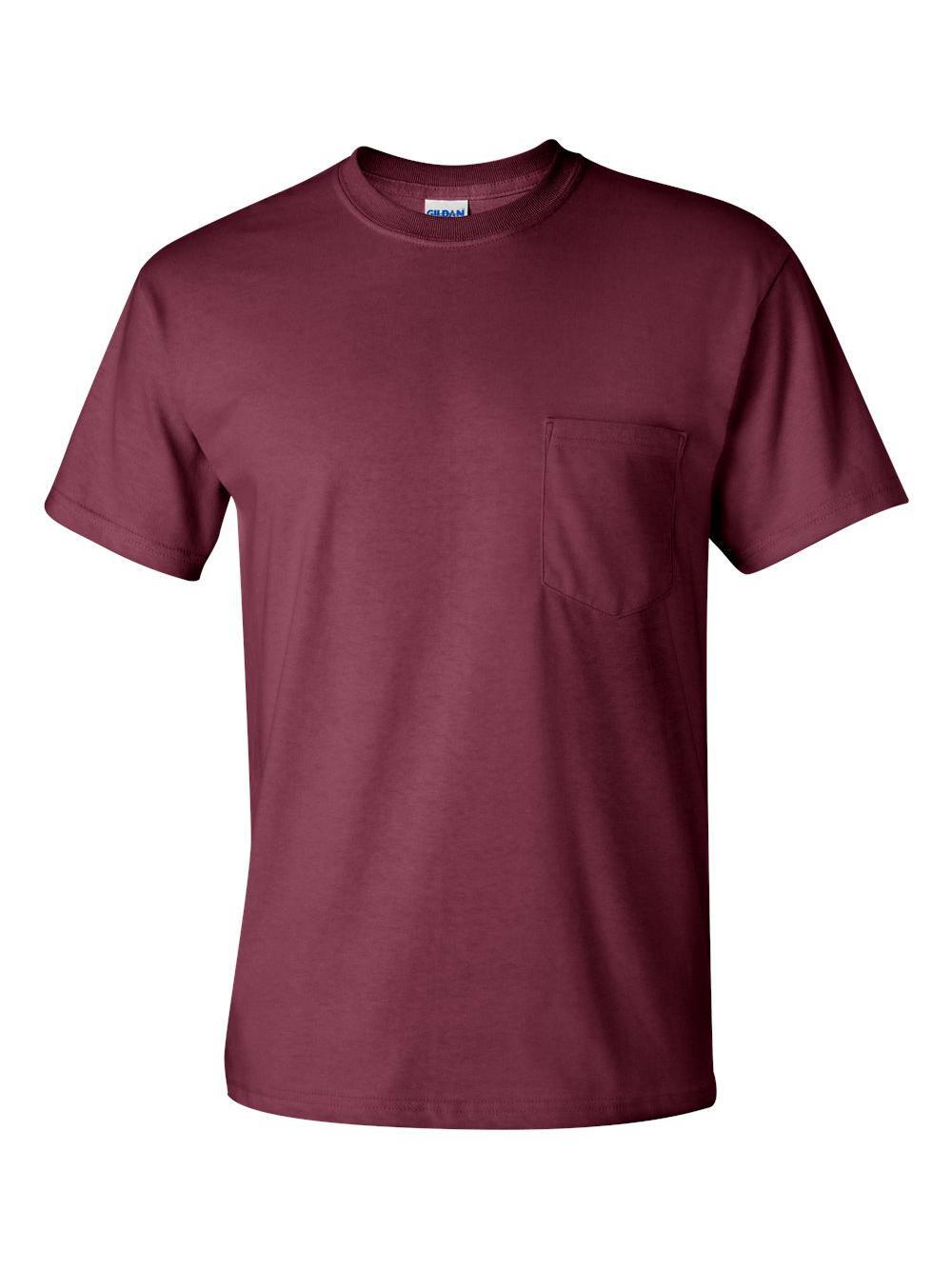 Gildan-Ultra-Cotton-T-Shirt-with-a-Pocket-2300 thumbnail 18