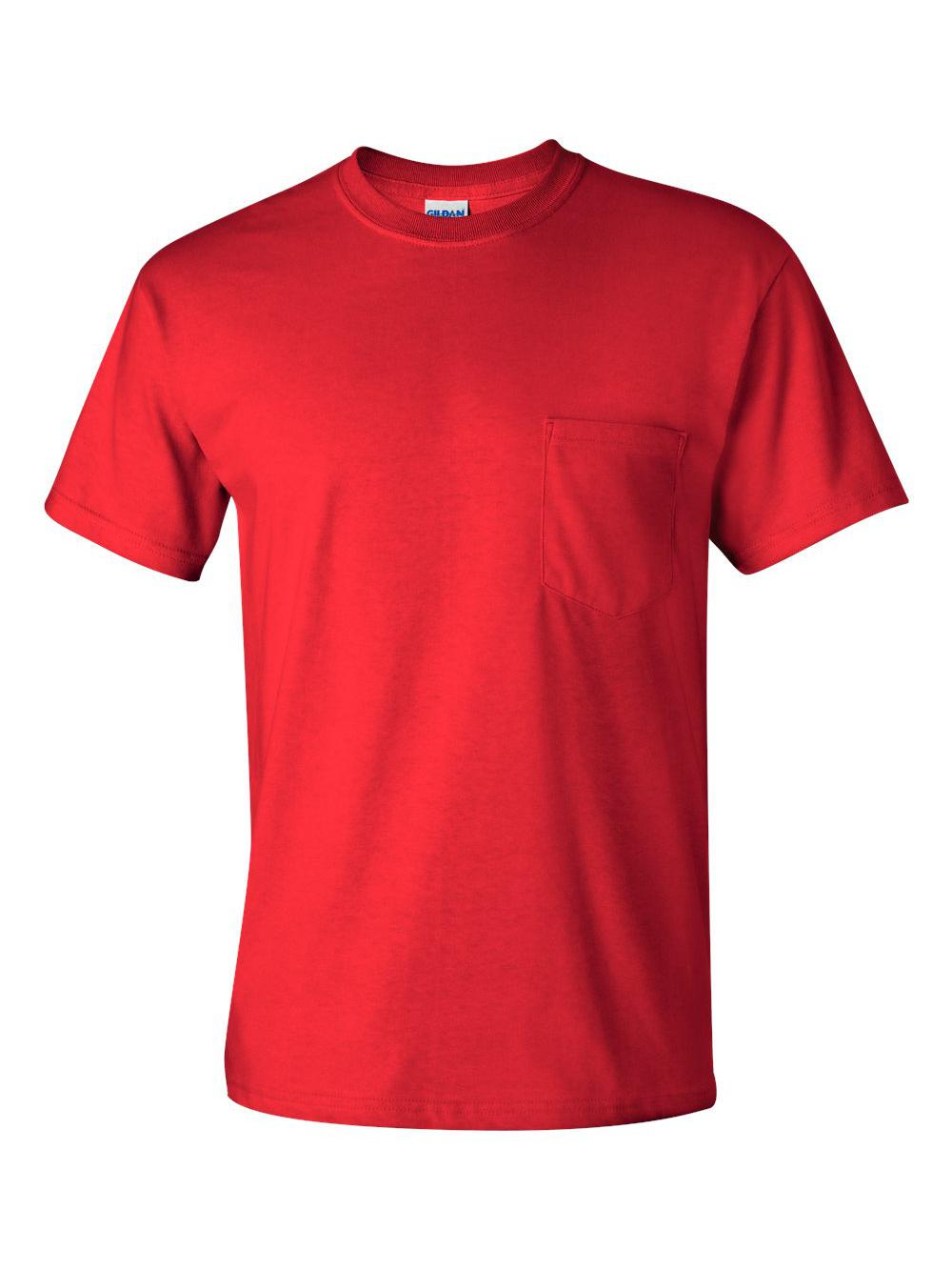 Gildan-Ultra-Cotton-T-Shirt-with-a-Pocket-2300 thumbnail 27