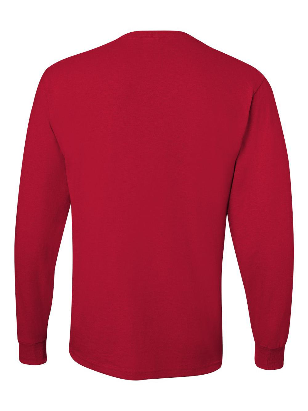 Jerzees-Dri-Power-Long-Sleeve-50-50-T-Shirt-29LSR thumbnail 82