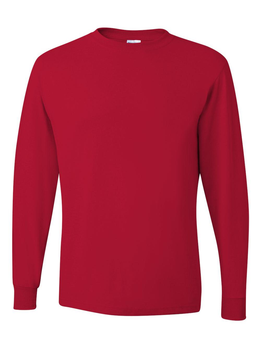 Jerzees-Dri-Power-Long-Sleeve-50-50-T-Shirt-29LSR thumbnail 81